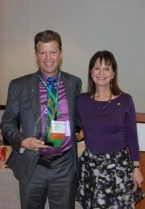 Honoree Mark Armfield, DDS and Cindi Sherwood, DDS, Dental Lifeline Network • Kansas president