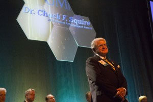 Dr. Charles Squire receives UMKC Alumni Award