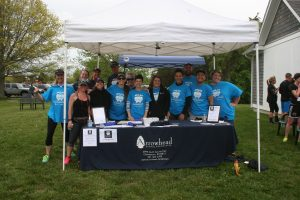 Arrowhead Dental Associates staff members at the annual Miles for Smiles 5K