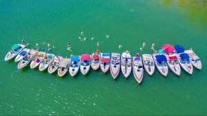 Cobalt Boats from Charity Boating Event at Table Rock Lake in Missouri