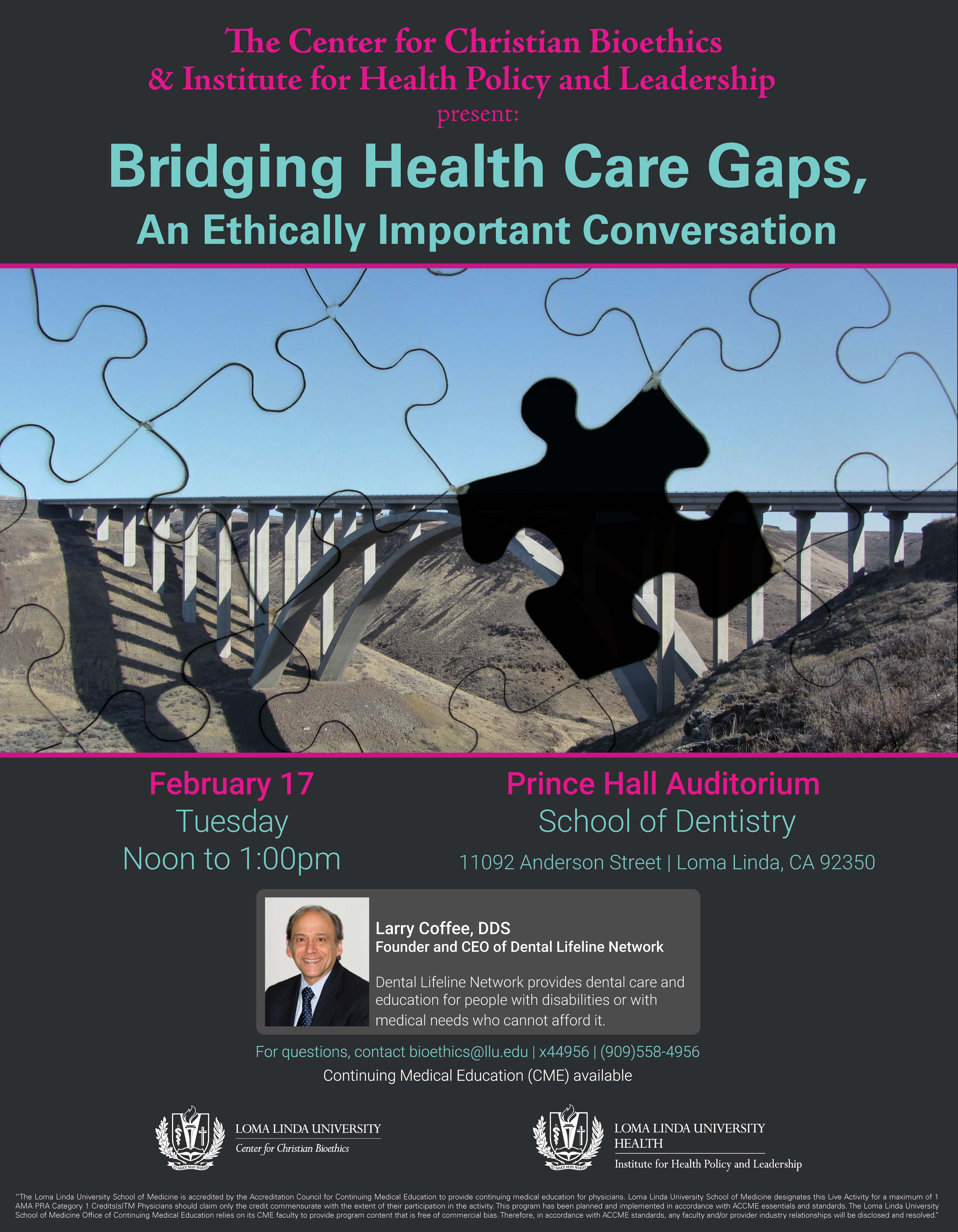 Dental Lifeline Network CEO Speaks at Loma Linda University