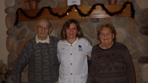 Henry & Agnes with Dr. Meyer